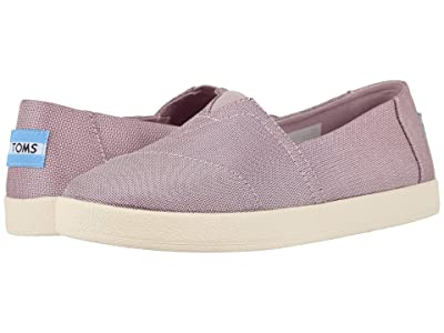 TOMS Avalon (Burnished Lilac Shiny Woven) Women