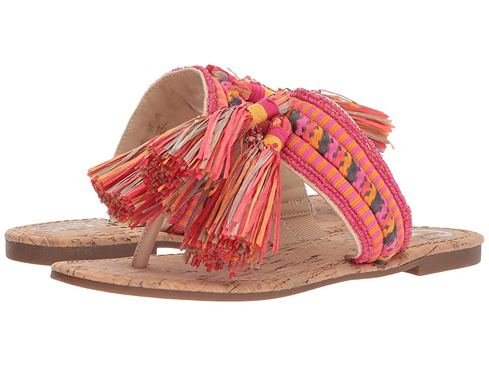 Circus by Sam Edelman Bella (Natural Naked/Pink Magenta Multi Smooth Atanado Veg/Beads/Rope) Women