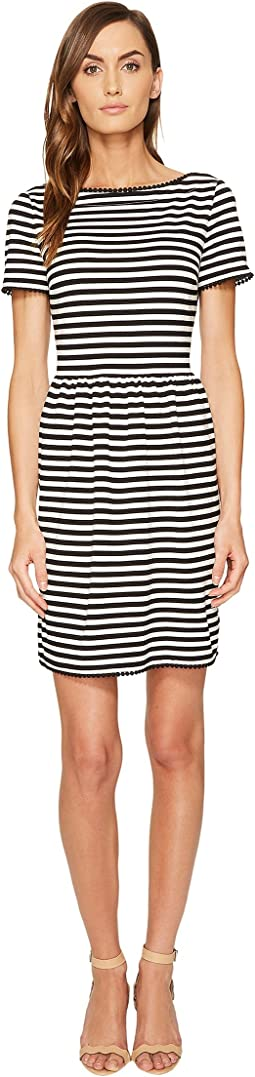 Kate Spade New York Stripe Ponte Dress