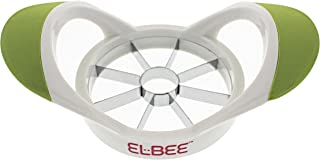 Elbee Home Upgraded Apple Slicer Cutter and Divider, Easy Grip Ultra Sharp Stainless Steel Blades, Easy to Clean, Makes Perfect Slices Every Time, Can Cut Large Apple