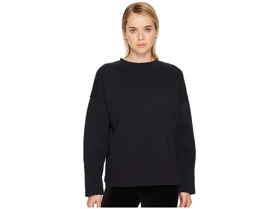 Vince Pullover Cotton Sweatshirt (Coastal Blue) Women