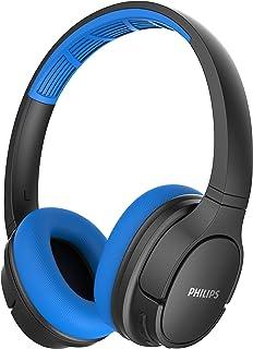 Fone de Ouvido Philips Sport BT Headphone Preto com Azul - TASH402BL/00