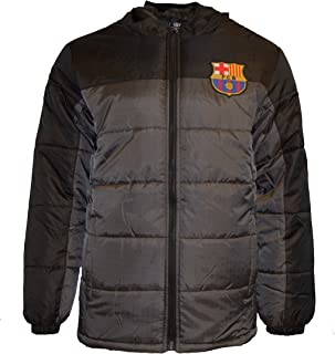 Fc Barcelona Jacket Light Down Padded Adults New Season