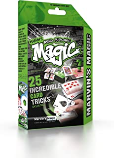 Marvin's Magic Mind Blowing Magic Incredible Card Tricks Themed Set - 7 Years