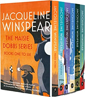 Maisie Dobbs Mystery Series Books 1 - 6 Collection Box Set by Jacqueline Winspear (Maisie Dobbs, Birds of a Feather, Pardo...