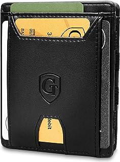 GenTo® FLAPLET II Magic Wallet - Protección RFID - Billetera mágica - Billetera mágica con un Gran Compartimento para Mone...