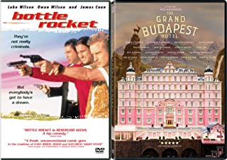 Three Friends and a Hotel DVD Movie Wes Anderson Bottle Rocket & The Grand Budapest Hotel Comedy Double Feature Pack