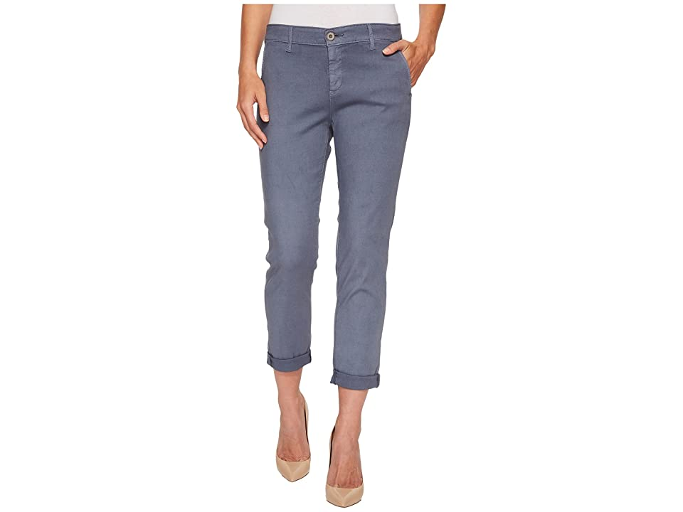 Image of AG Adriano Goldschmied Caden in Sulfur Dolphin Blue (Sulfur Dolphin Blue) Women's Jeans