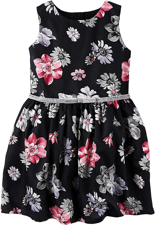 Carter's Girls' 2T-8 Floral Dress