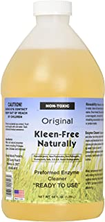 Kleen-Free Naturally Preformed Enzyme Cleaner (Original, 64-Ounce Ready-to-Use)