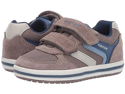 Geox Kids Vita Boy 32 (Toddler) (Beige/Avio) Boy