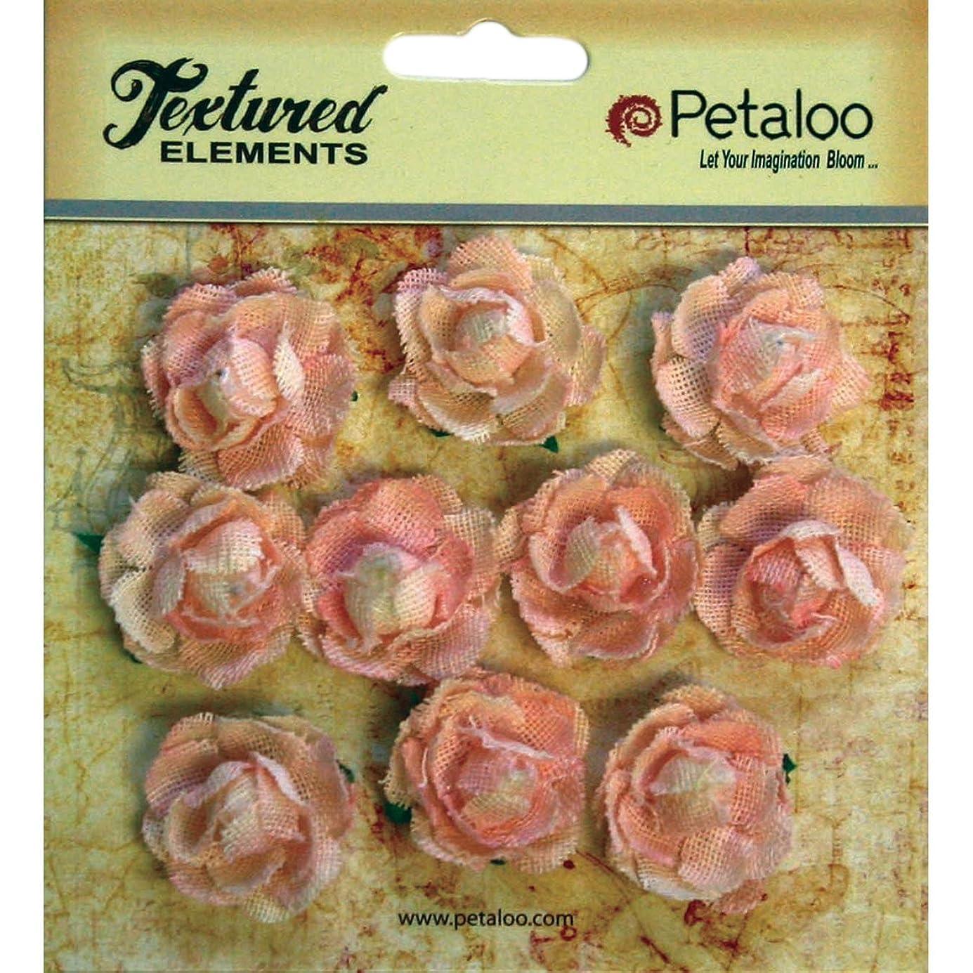 PETALOO Textured Elements Mini Canvas Rosettes (10 Pack), 1