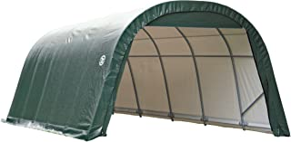 ShelterLogic 71342 Green 12'x20'x8' Round Style Shelter