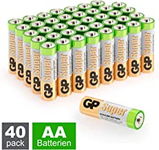 GP Peak-Power 100/% AAA-Batterie 4er Pack 1,5V Alkaline AAA-Batterien Micro LR03