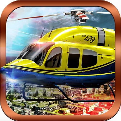 911警察ガンシップヘリコプターエアストライクバトルコンバットフライトシミュレーター3D:サバイバルゲームのルールで戦争の翼の偉大な冒険無料