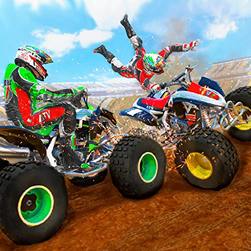 Xtreme Quad Bike Demolition Derby Stunts: Mega Ramp Crash Racing Destruction Bikes Simulator 2019 Free
