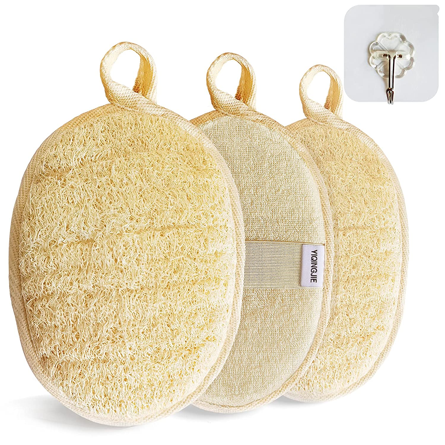 Beauty products Natural Loofah Sponge Ranking TOP5 Exfoliating Body 3 wi Pack Scrubber Made