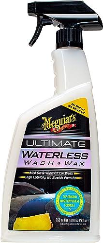 Meguiar's G3626EU Shampoing Sans Eau (Wash & Wax Anywhere), 768 ml