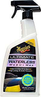 MEGUIAR'S G3626 Ultimate Waterless Wash & Wax, 26 Fluid Ounces