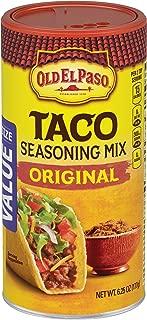 Old El Paso Seasoning, Taco, 6.25 Ounce