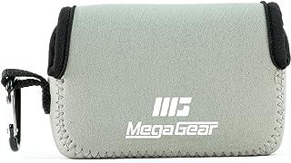 MegaGear MG1246 Canon PowerShot SX740 HS SX730 HS SX720 HS SX710 HS G16 G15 Estuche de cámara ultra ligero de neopreno – Gris