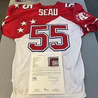 junior seau autographed jersey