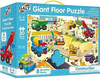 Galt - GA1013K - Puzzle - Puzzle Géant de sol Le Chantier de Construction