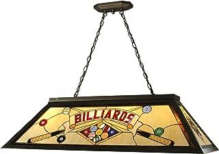 Springdale FTH10021 Billiards Pool Table Tiffany Island Hanging Fixture, Antique Bronze