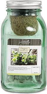 Apothecary Decorative Oregano Herb Growing Kit in Mason Jar