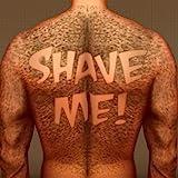 Hairy Back Shaving : el hombre del tatuaje cabello oso razor