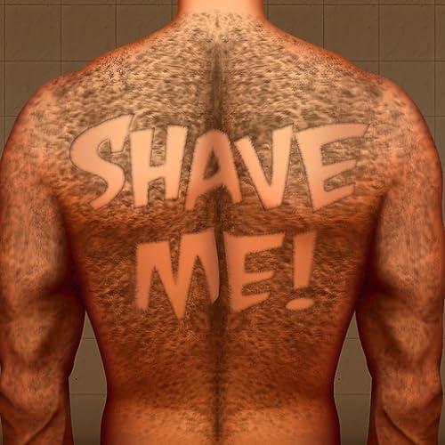 Hairy Back Shaving : hombre tatuaje cabello oso razor