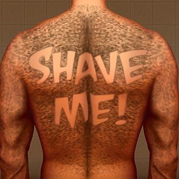 Hairy Back Shaving   The Tattoo Man Bear Hair Razor Shave
