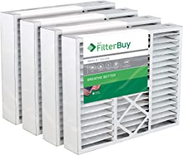 Best FilterBuy 20x20x5 Amana Goodman Coleman York FS2020 M2-1056 MU2020 9183960 Compatible Pleated AC Furnace Air Filters (MERV 8, AFB Silver). 4 Pack. Reviews