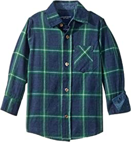Toobydoo - Check Flannel Shirt (Infant/Toddler/Little Kids/Big Kids)