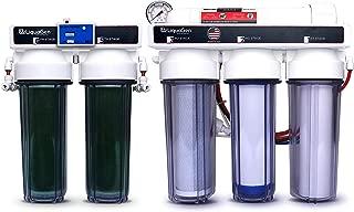 LiquaGen - 6 Stage Heavy Duty - 0 PPM Reverse Osmosis/Deionization Aquarium Reef Water Filter System, 150 GPD
