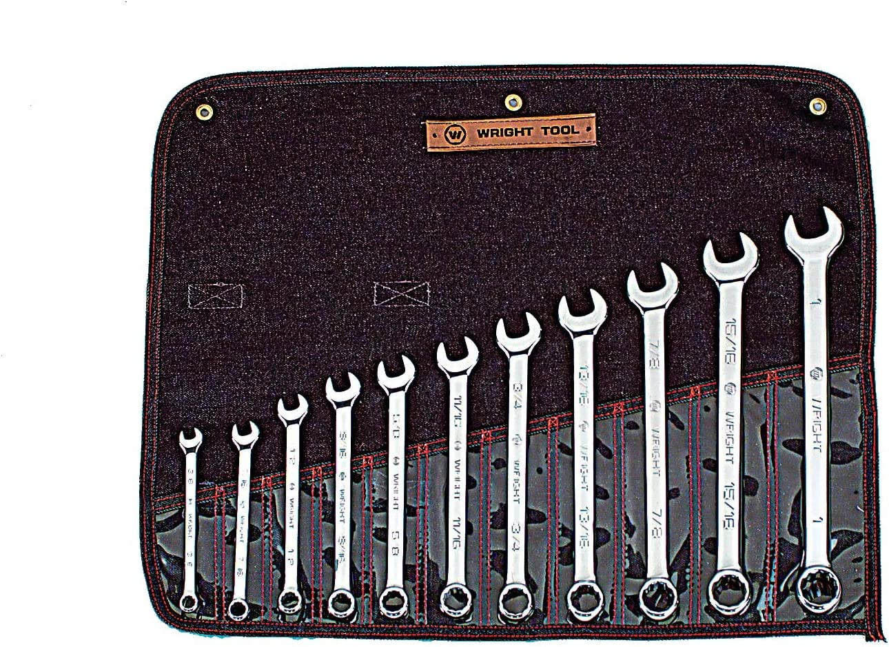 Wright Tool 911 Full Polish 12 Point Complete Free Shipping Wrench Combination Set Max 54% OFF 8