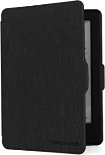 "NIFTYNOOK Case for Kindle E-Reader 6"" Display 8th Generation 2016 Release w/Auto Sleep/Wake funtion Black"