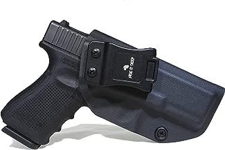 Hide It Deep IWB KYDEX Holster Fits: Glock 19/Glock 19x/Glock 23/Glock 32/Glock 45 (Gen 1-5) - Concealed Carry Holster