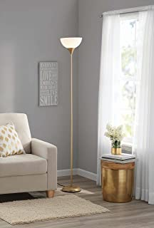 Mainstays Metal Floor Lamp, Gold