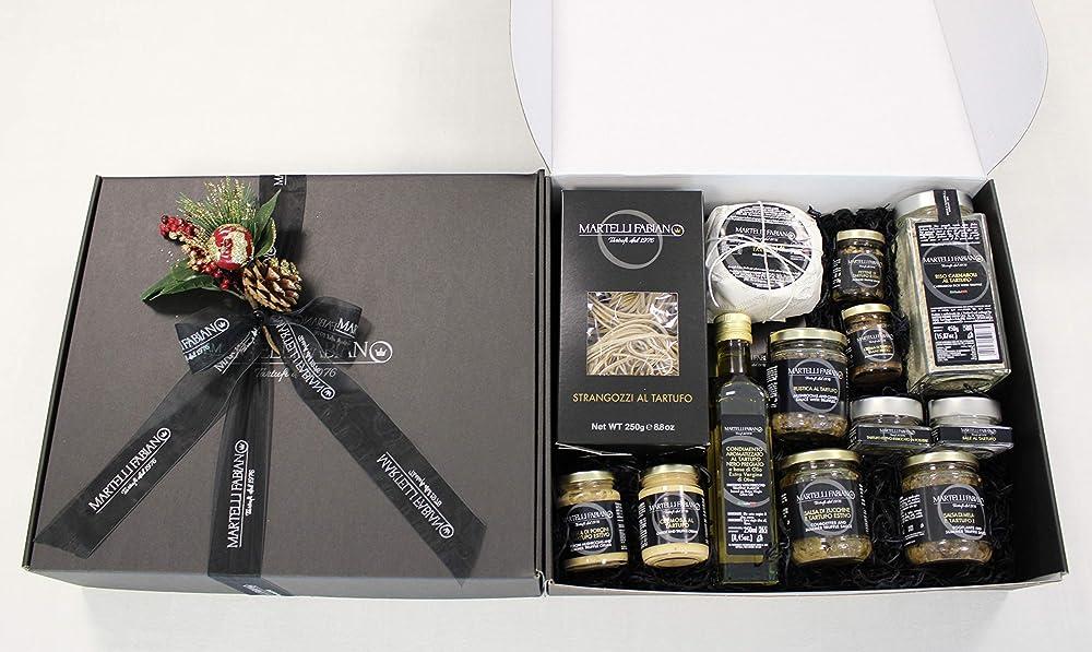 Cesto pasquale confezione regalo prodotti artigianali al  tartufo