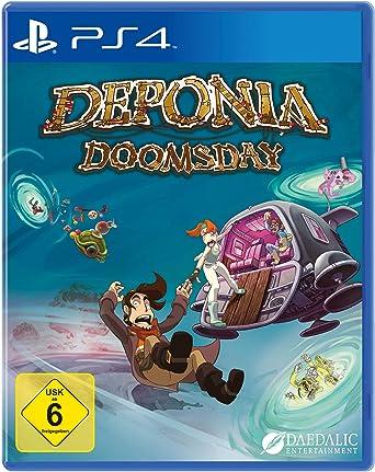 Deponia Doomsday (PS4 Deutsch)