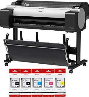"CES Imaging imagePROGRAF TM-300 5-Color 36"" Large Format Printer Extra Set of Ink Included"