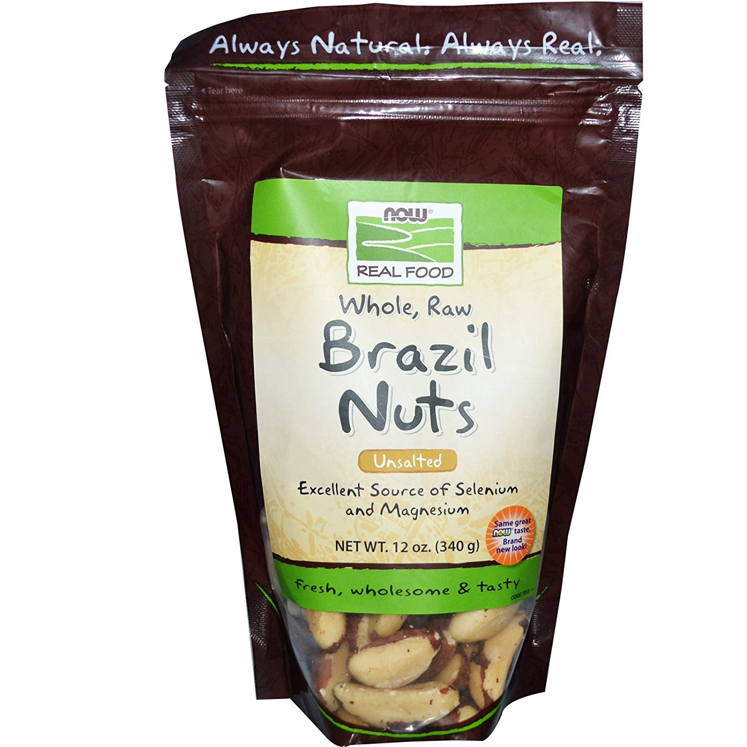 NOW Boston Mall Foods Brazil Nuts Seattle Mall Raw Bag Pack 12-Ounce 2 of