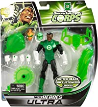 DC Universe Total Heroes Ultra 6 Inch Action Figure Green Lantern Corps - John Stewart by DC Comics