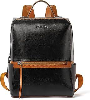 BOSTANTEN Damen Leder Rucksack Schulrucksack Stadtrucksack 13 Zoll Laptop Backpack Casual Daypacks