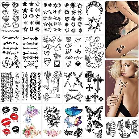Frauen tattoos kleine Kleine Schriftzug