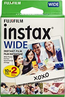 Fujifilm Instax Wide Film Twin Pack (White) (New Packaging)