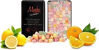 Turkish Delight Assortment Luxurious Selection of Rose, Strawberry, Lemon, Orange and Mint Flavour, Mughe Gourmet Lokum De...