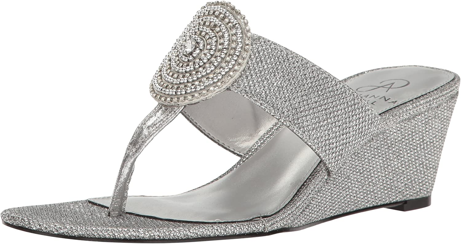 Adrianna Papell Womens Casey Wedge Sandal