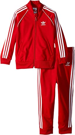 adidas Originals Kids Superstar Tracksuit (Infant/Toddler)